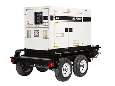 Generators for rent in Artesia, Long Beach, Anaheim, San Diego, Palm Springs California
